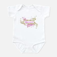 Cute Gymnastics Infant Bodysuit