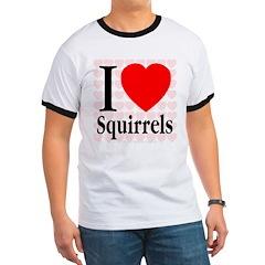 I Love Squirrels T