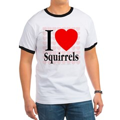 I Love Squirrels T