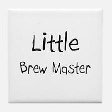 Little Brew Master Tile Coaster