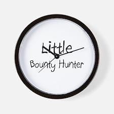 Little Bounty Hunter Wall Clock