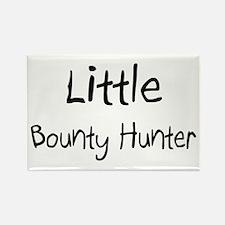 Little Bounty Hunter Rectangle Magnet