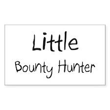Little Bounty Hunter Rectangle Decal