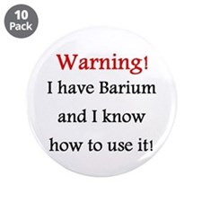 """X-ray 3.5"""" Button (10 pack)"""
