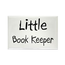 Little Book Keeper Rectangle Magnet