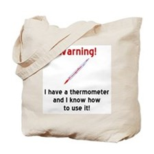 Thermometer Tote Bag