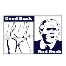 Good bush bad bush Postcards (Package of 8)