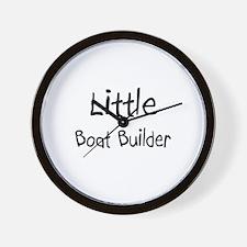 Little Boat Builder Wall Clock
