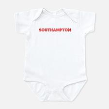 Retro Southampton (Red) Infant Bodysuit