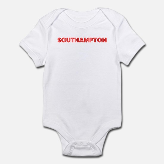 Retro Southampton (Red) Infant Bodysuit