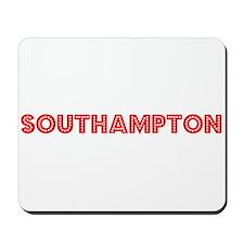 Retro Southampton (Red) Mousepad