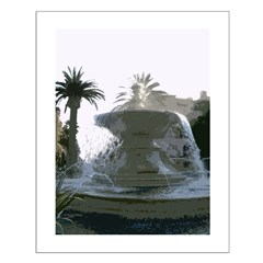 San Diego Fountain Print