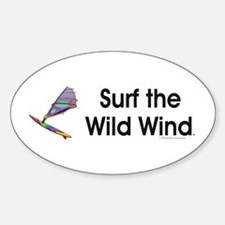 TOP Windsurfing Oval Decal