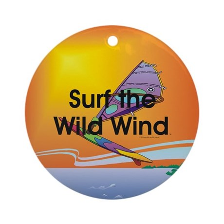 TOP Windsurfing Ornament (Round)
