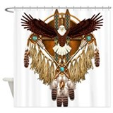 Bald eagle Shower Curtains