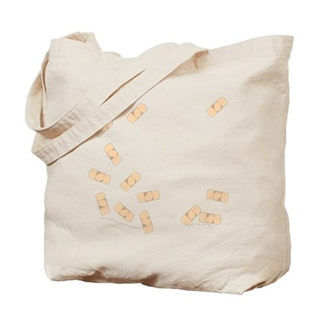 Cute Little Bandages Tote Bag