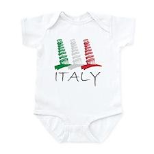 Tower of Pisa Italy Infant Bodysuit