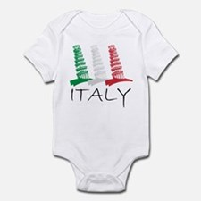 Tower of Pisa Italy Infant Bodysuit