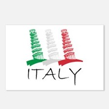 Tower of Pisa Italy Postcards (Package of 8)