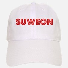 Retro Suweon (Red) Baseball Baseball Cap