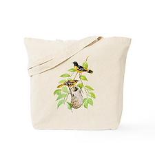 Baltimore Oriole Bird Tote Bag