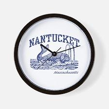Nantucket Massachusetts Wall Clock