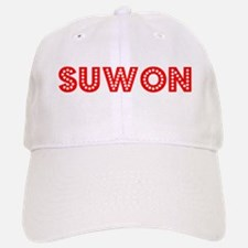 Retro Suwon (Red) Baseball Baseball Cap