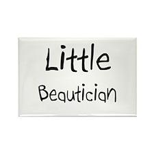 Little Beautician Rectangle Magnet