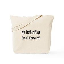 Cute Big brother basketball Tote Bag