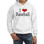 I Heart Baseball Hooded Sweatshirt