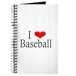 I Heart Baseball Journal