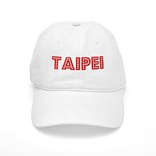 Retro Taipei (Red) Baseball Cap