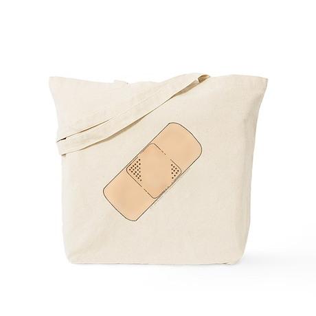 Cute Bandage Art Tote Bag