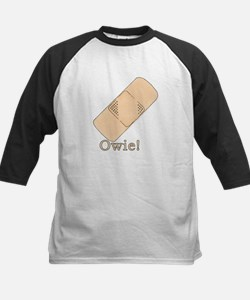 Cute Bandage Art Kids Baseball Jersey