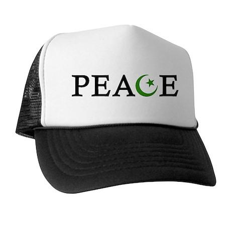 Peace & Muslim Trucker Hat