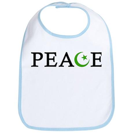 Peace & Muslim Bib
