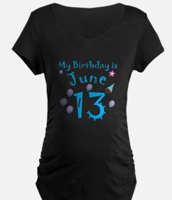 June 13th Birthday T-Shirt