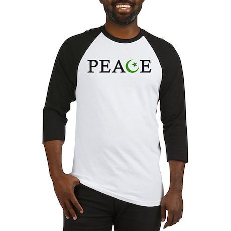 Peace & Muslim Baseball Jersey