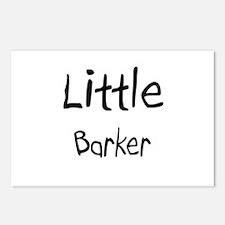 Little Barker Postcards (Package of 8)