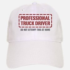 Professional Truck Driver Baseball Baseball Cap