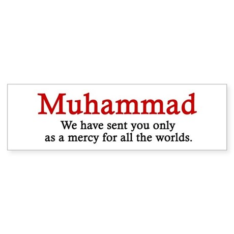 Muhammad Bumper Sticker