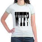 WTF? Jr. Ringer T-Shirt