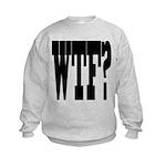 WTF? Kids Sweatshirt