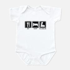 EAT SLEEP ROLLERBLADE Infant Bodysuit