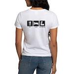 EAT SLEEP ROLLERBLADE Women's T-Shirt