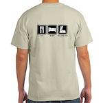 EAT SLEEP ROLLERBLADE Light T-Shirt