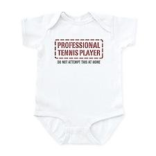 Professional Tennis Player Infant Bodysuit