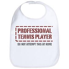 Professional Tennis Player Bib