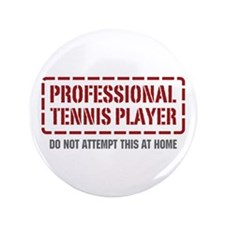 """Professional Tennis Player 3.5"""" Button (100 pack)"""
