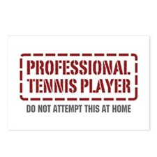 Professional Tennis Player Postcards (Package of 8